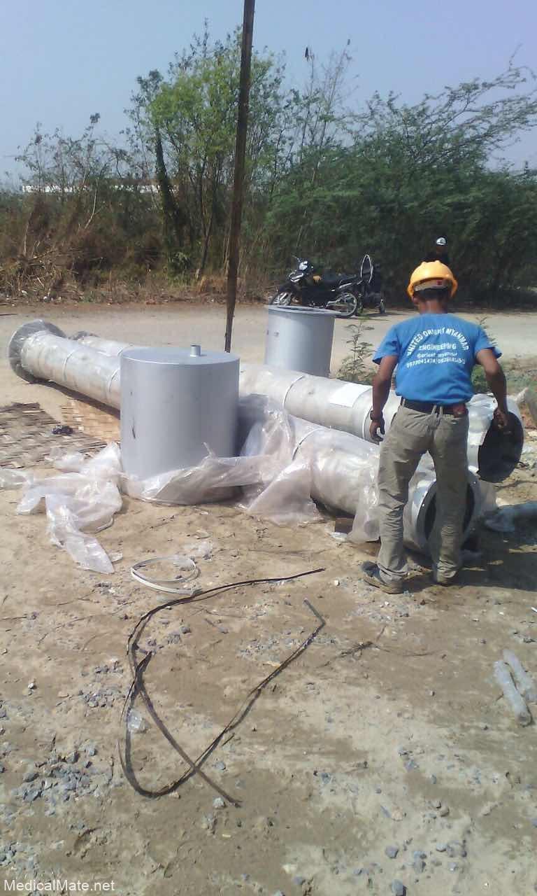 Incinerator local Installation